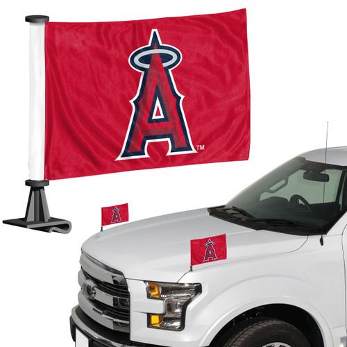 Los Angeles Angels Flag Set 2 Piece Ambassador Style - Special Order