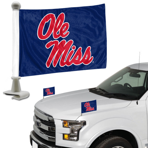 Mississippi Rebels Flag Set 2 Piece Ambassador Style - Special Order
