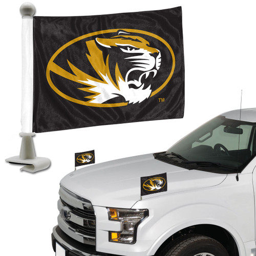 Missouri Tigers Flag Set 2 Piece Ambassador Style - Special Order