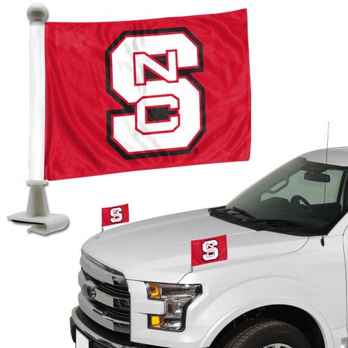 North Carolina State Wolfpack Flag Set 2 Piece Ambassador Style - Special Order