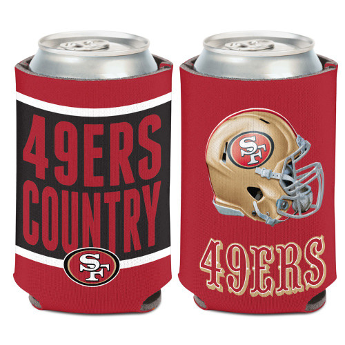 San Francisco 49ers Can Cooler Slogan Design - Special Order