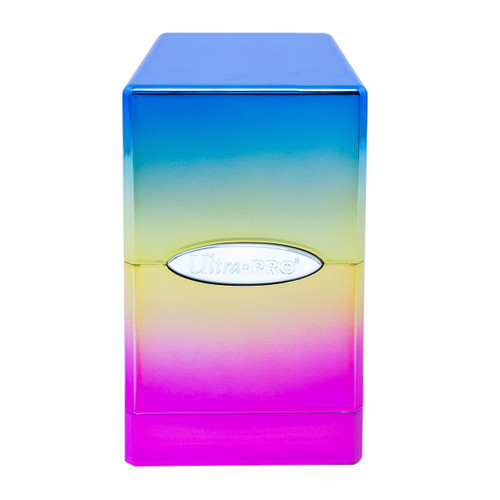 Satin Tower Deck Box Rainbow Hi-Gloss - Special Order