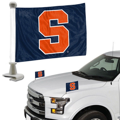 Syracuse Orange Flag Set 2 Piece Ambassador Style - Special Order