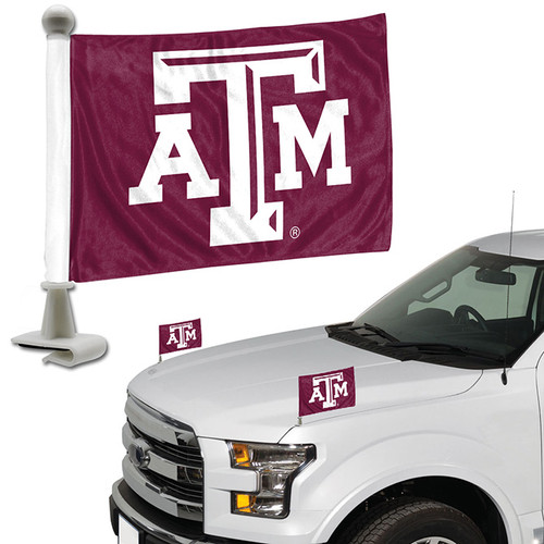 Texas A&M Aggies Flag Set 2 Piece Ambassador Style - Special Order