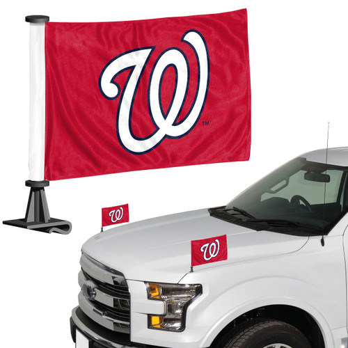 Washington Nationals Flag Set 2 Piece Ambassador Style - Special Order