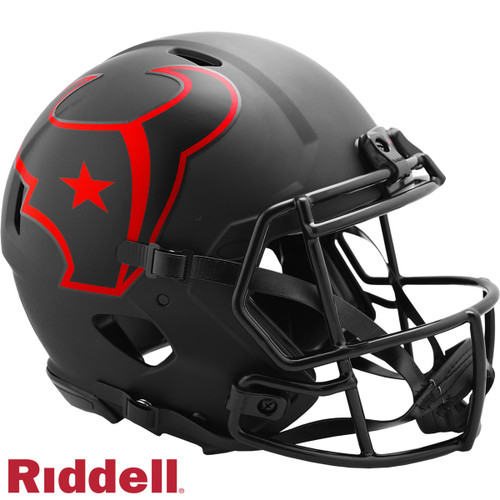 Houston Texans Helmet Riddell Authentic Full Size Speed Style Eclipse Alternate Special Order