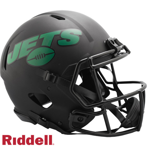 New York Jets Helmet Riddell Authentic Full Size Speed Style Eclipse Alternate Special Order