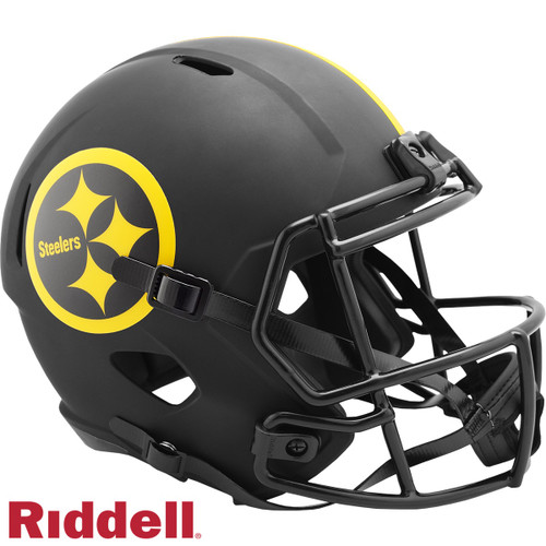 Pittsburgh Steelers Helmet Riddell Replica Full Size Speed Style Eclipse Alternate Special Order