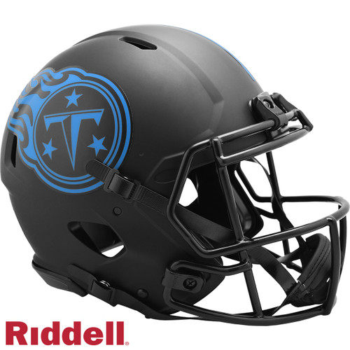 Tennessee Titans Helmet Riddell Authentic Full Size Speed Style Eclipse Alternate Special Order