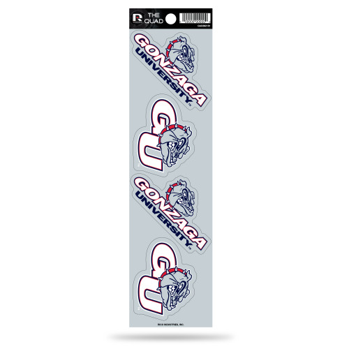 Gonzaga Bulldogs Decal The Quad Special Order