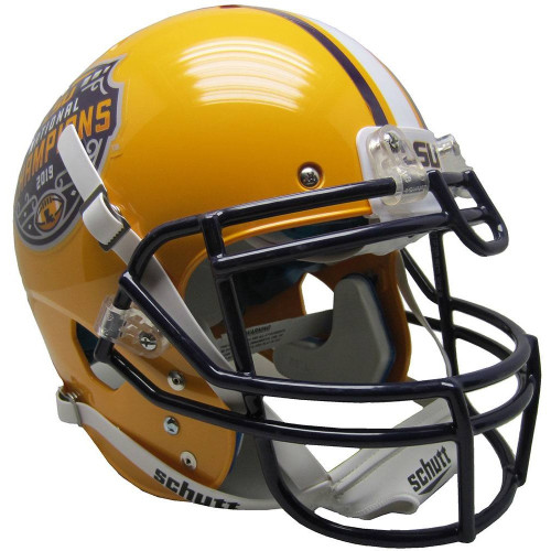 LSU Tigers Helmet Schutt Authentic XP Full Size 2019 National Champs Special Order