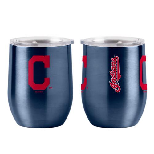 Cleveland Indians Travel Tumbler 16oz Ultra Curved Beverage Special Order