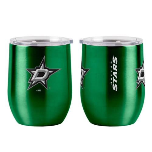 Dallas Stars Travel Tumbler 16oz Ultra Curved Beverage Special Order