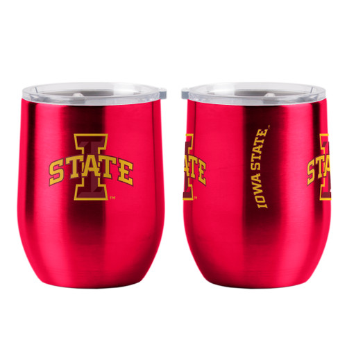 Iowa State Cyclones Travel Tumbler 16oz Ultra Curved Beverage Special Order