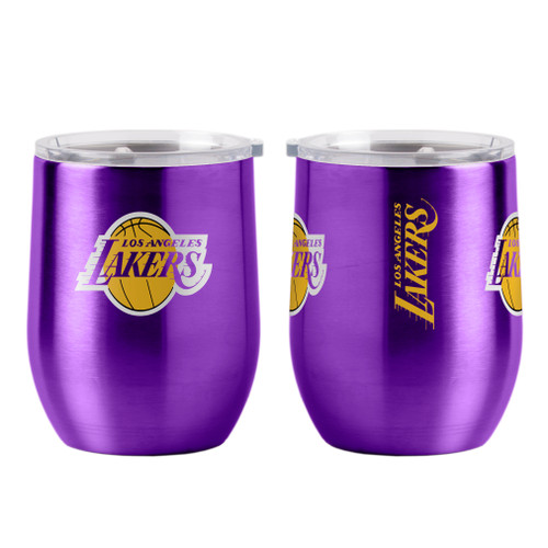 Los Angeles Lakers Travel Tumbler 16oz Ultra Curved Beverage Special Order
