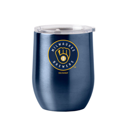 Milwaukee Brewers Travel Tumbler 16oz Ultra Curved Beverage