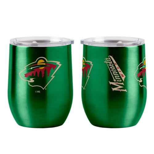 Minnesota Wild Travel Tumbler 16oz Ultra Curved Beverage Special Order