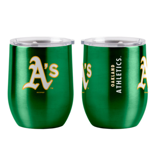 Oakland Athletics Travel Tumbler 16oz Ultra Curved Beverage Special Order