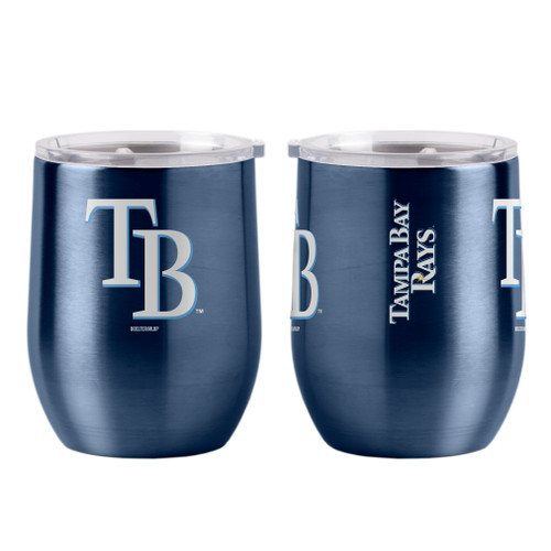 Tampa Bay Rays Travel Tumbler 16oz Ultra Curved Beverage Special Order