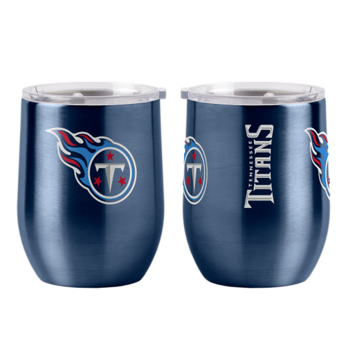 Tennessee Titans Travel Tumbler 16oz Ultra Curved Beverage