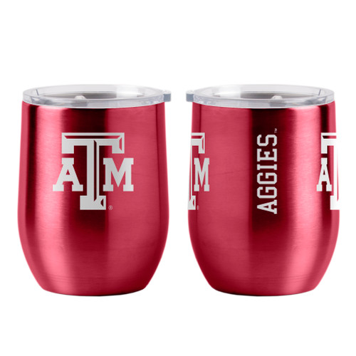 Texas A&M Aggies Travel Tumbler 16oz Ultra Curved Beverage Special Order