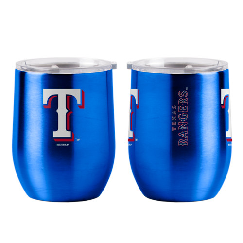 Texas Rangers Travel Tumbler 16oz Ultra Curved Beverage Special Order