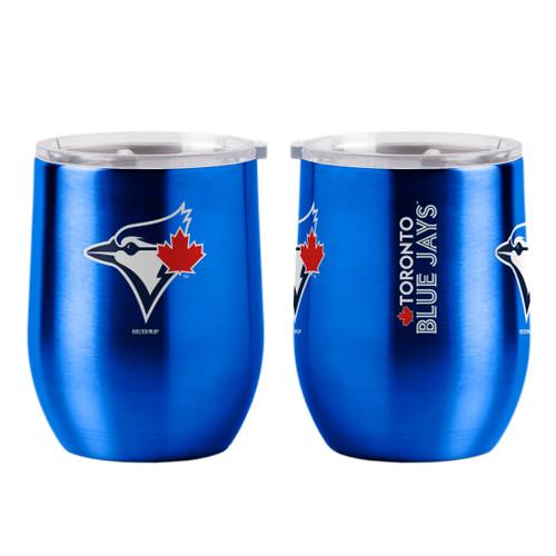 Toronto Blue Jays Travel Tumbler 16oz Ultra Curved Beverage Special Order