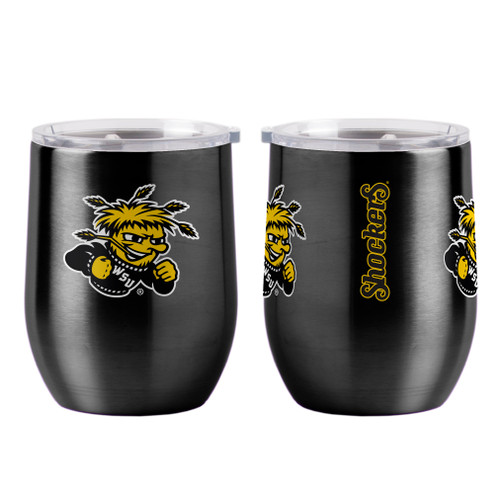 Wichita State Shockers Travel Tumbler 16oz Ultra Curved Beverage Special Order