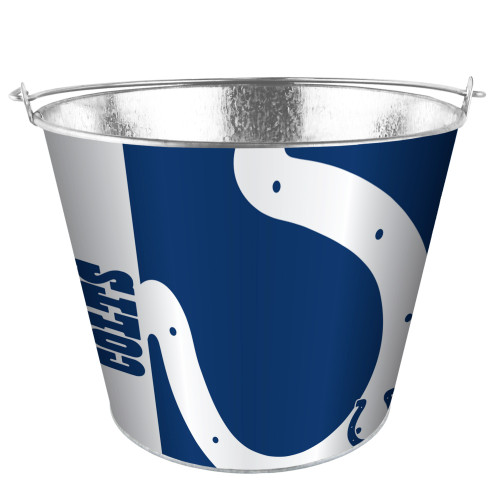Indianapolis Colts Bucket 5 Quart Hype Design Special Order