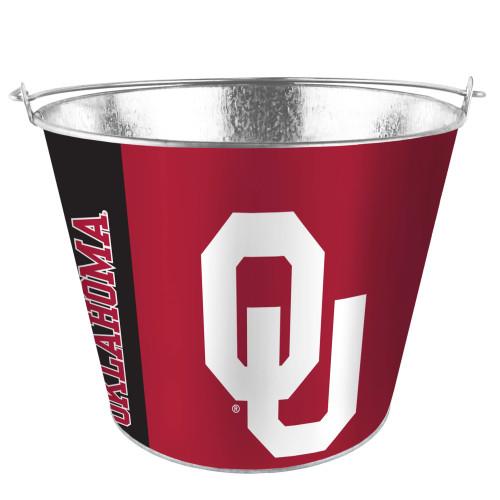 Oklahoma Sooners Bucket 5 Quart Hype Design Special Order