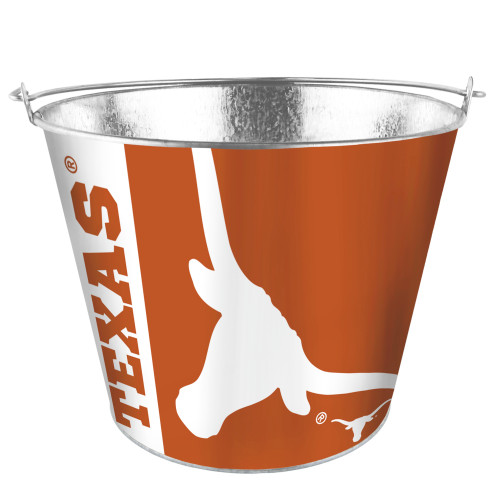 Texas Longhorns Bucket 5 Quart Hype Design Special Order