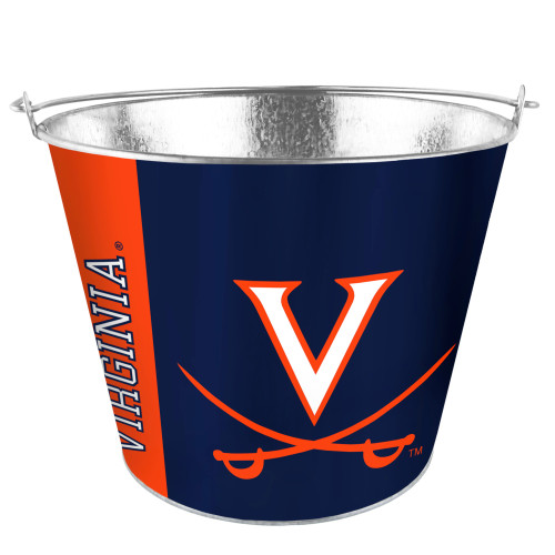 Virginia Cavaliers Bucket 5 Quart Hype Design Special Order