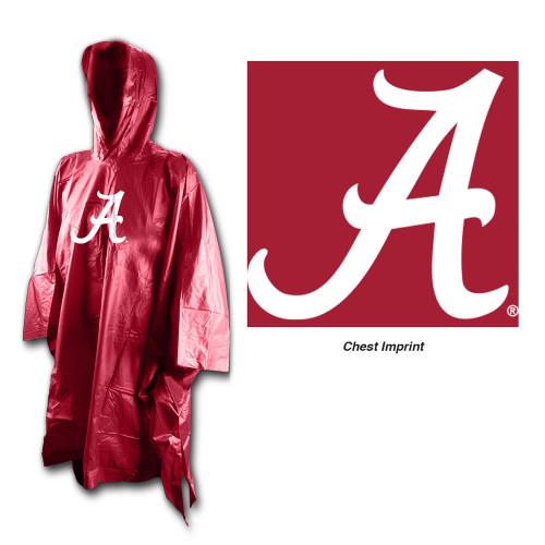 Alabama Crimson Tide Rain Poncho