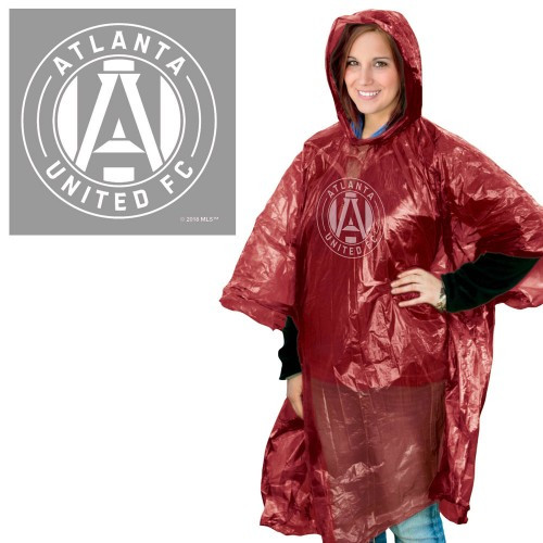 Atlanta United FC Rain Poncho Special Order