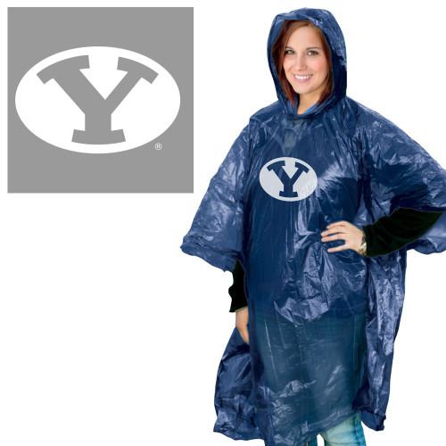 BYU Cougars Rain Poncho Special Order