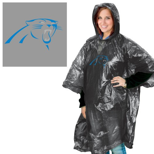 Carolina Panthers Rain Poncho
