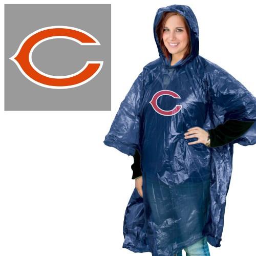 Chicago Bears Rain Poncho