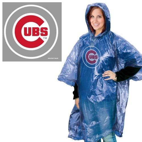 Chicago Cubs Rain Poncho