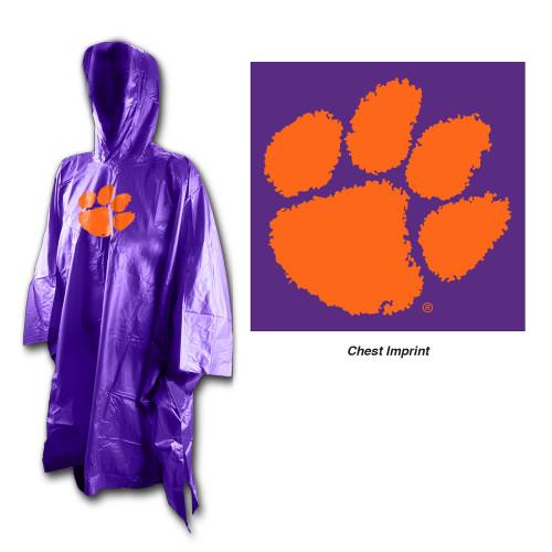 Clemson Tigers Rain Poncho