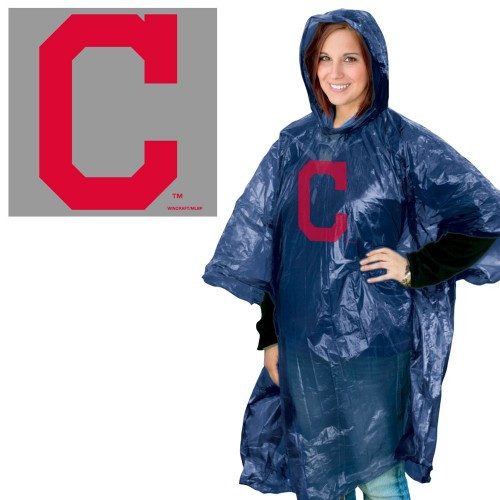 Cleveland Indians Rain Poncho Special Order
