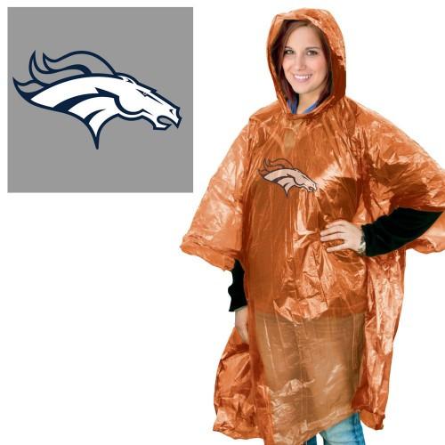 Denver Broncos Rain Poncho