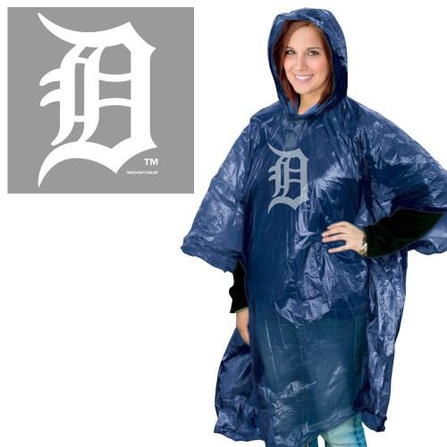 Detroit Tigers Rain Poncho Special Order