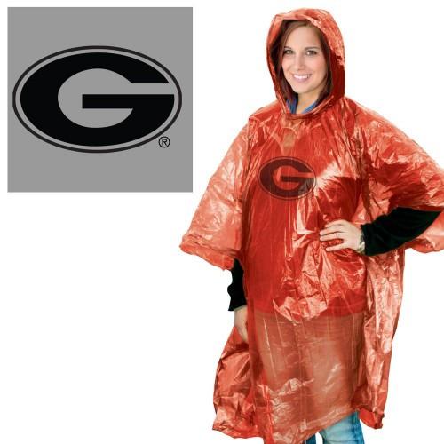 Georgia Bulldogs Rain Poncho