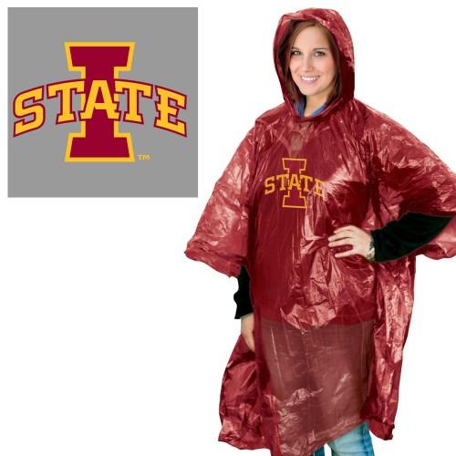 Iowa State Cyclones Rain Poncho