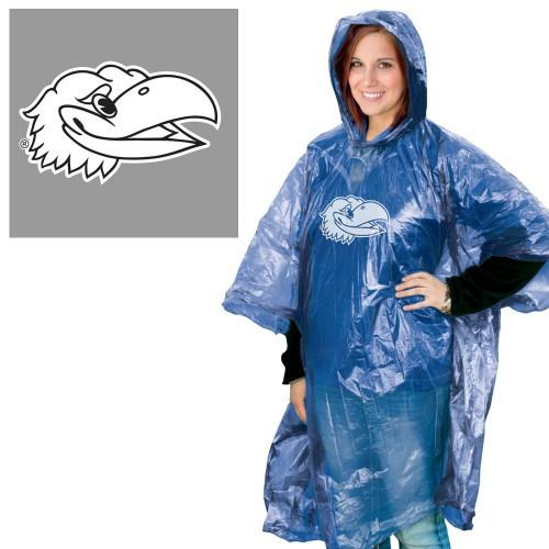 Kansas Jayhawks Rain Poncho