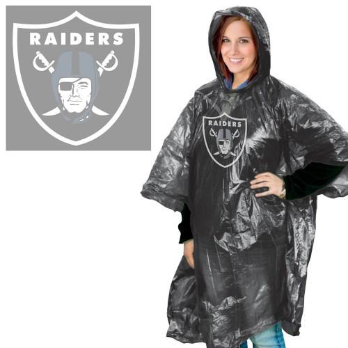 Las Vegas Raiders Rain Poncho