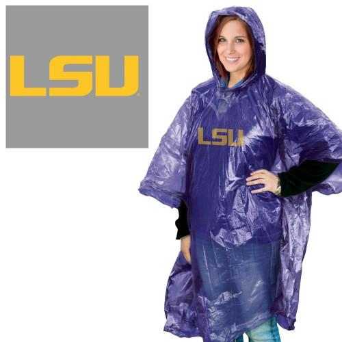LSU Tigers Rain Poncho