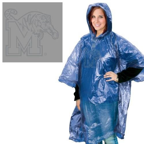Memphis Tigers Rain Poncho