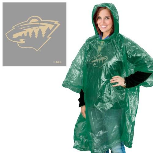 Minnesota Wild Rain Poncho Special Order