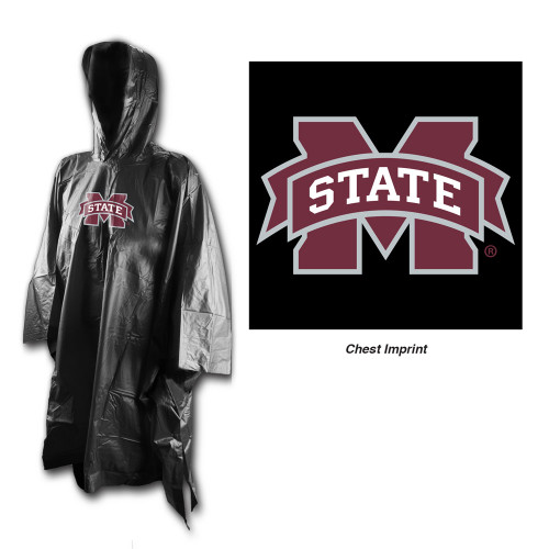 Mississippi State Bulldogs Rain Poncho Special Order